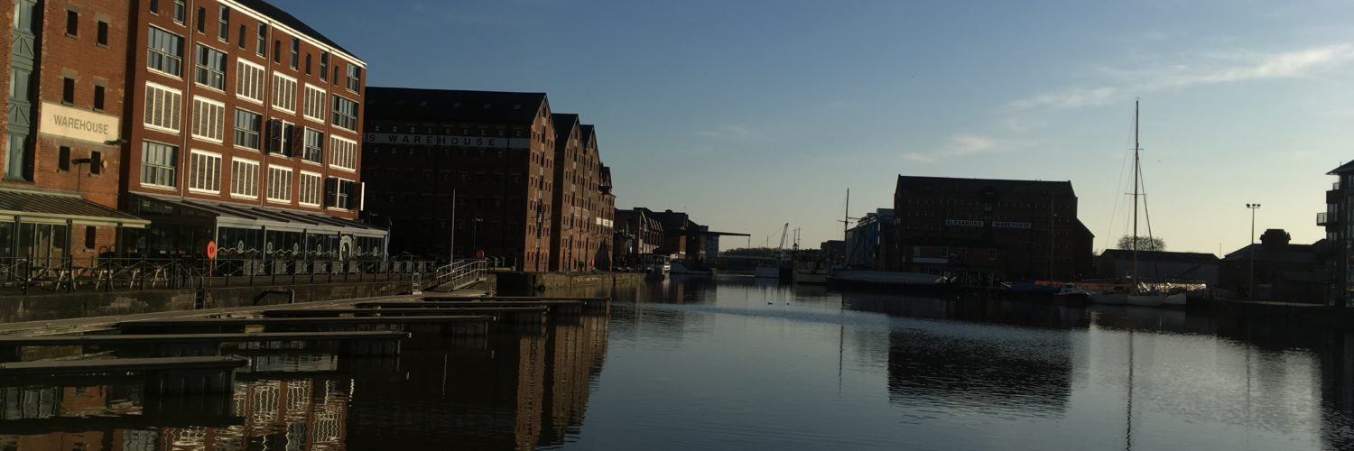 Stillness at Gloucester Quays
